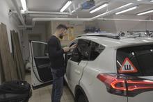 Тонировка Toyota RAV4
