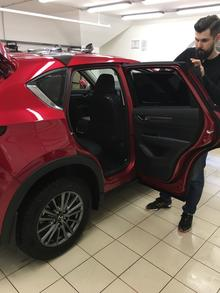 Тонировка Mazda CX5